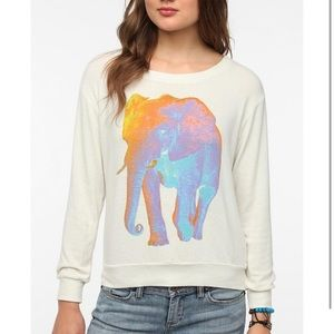 Truly Madly Deeply Psychedelic Elephant Tee